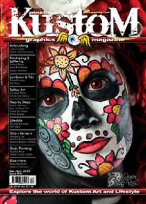 PINSTRIPING AND KUSTOM GRAPHICS Magazine Day of the Dead
