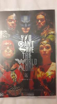 Justice League #15 NYCC Foil Movie Variant