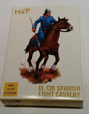 Hät 8201 El Cid Spanish Light Cavalry Early Medieval Age Spain Reconquist 1:72