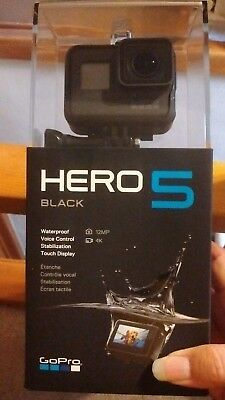 GoPro HERO 5 Camcorder - Black - Brand New in  Box  - Free Shipping!