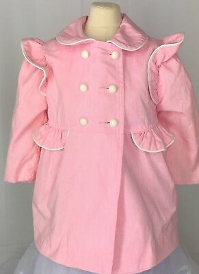 VTG Casual Time 2T Pink Dress Jacket Adorable For Christmas!