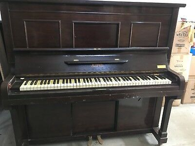 Steck Sutton's Pianola Piano With 20+ Rolls