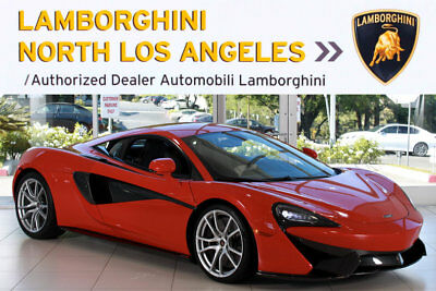 2016 McLaren 570 Base Coupe 2-Door NAV+BLUTH+1OWNR+SRSXM+PWRSTS+RCAM+RWD