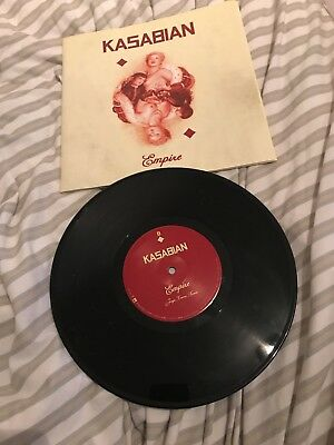 Kasabian Empire 10 inch single Plus huge Poster!!!! Never used!!
