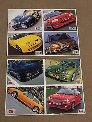 Max Power Magazine Postcards