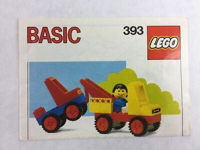 Instructions Only Lego Basic Set 740 Manual 600 Picclick