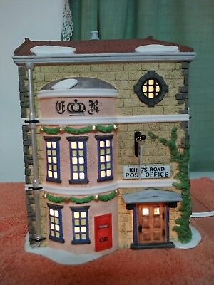 Dept 56 Dickens Village Series Kings Road Post Office 58017