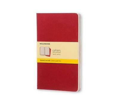 Cahier squared large, red - NUOVO
