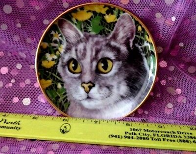 Vintage Kaiser West Germany Mini CAT Collectors Plate