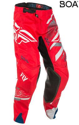 Fly Racing Evolution 2.0 Pants Red/Grey 26