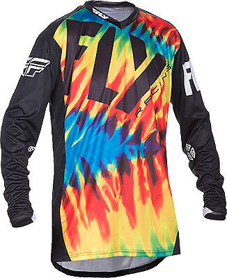 Fly Racing Lite Limited Edition Jersey Tie-Dye/Black Md