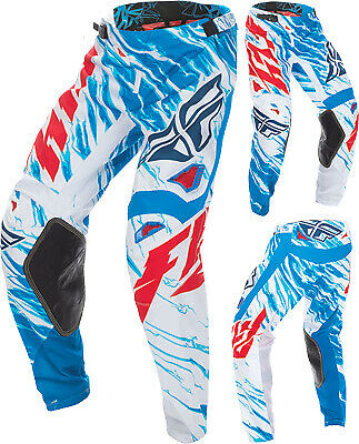 Fly Racing Kinetic Relapse Pants Red/White/Blue 30