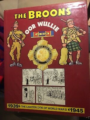 Oor Wullie The Broons - the wartime strips