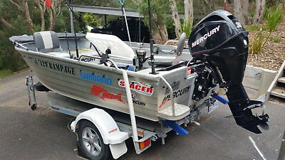 2011 Stacer 429 Rampage with 2014 Mercury 30hp