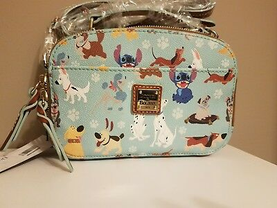 Disney Dooney & and Bourke Dogs Print Ambler Small Crossbody Bag Purse