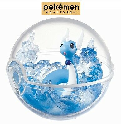 RE-MENT Pokemon Terrarium Collection Pocket Monsters Figure 5 Dragonair Hakuryu
