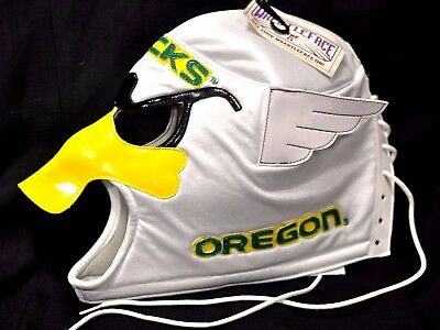 Oregon Duck football Wrestle face mask  - lace up