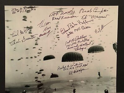 Autographed Band Of Brothers, 101st Airborne Photo