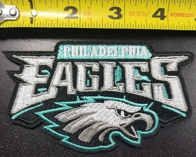 """Philadelphia Eagles NFL SUPER BOWL CHAMPS 4.5"""" Iron/Sew On Patch~FREE SHIPPING~"""