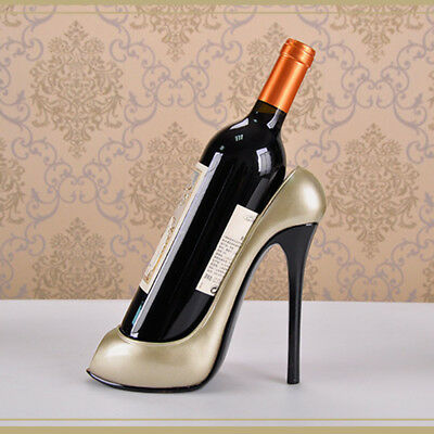High Heel Shoe Wine Bottle Holder Stylish Wine Rack Gift Basket Accessories Home