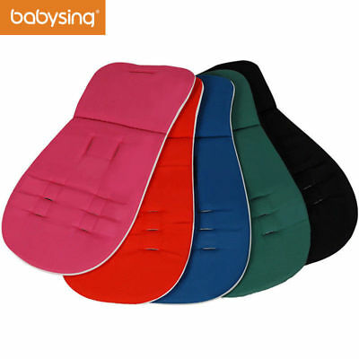 Babysing Easy to Wash Reversible Cotton Pad Liner Cushion for Stroller Car Seat