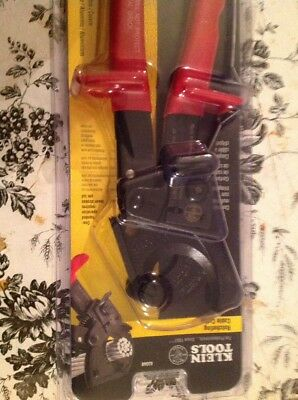 Klein Tools Ratcheting Cable Cutter Ratchet Cutting Wire Electrical Hand Tool