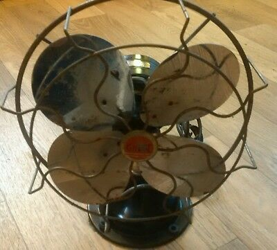 Antique AC Gilbert Electric Fan REDUCED