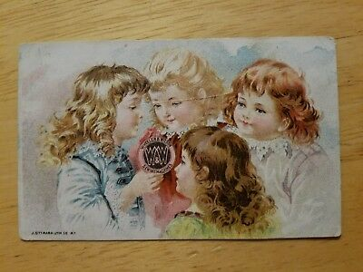 Wheeler & Wilson Sewing Machines Advertising Trade Card