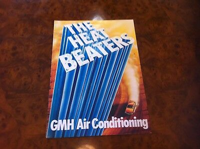 HOLDEN GMH Air Conditioning Vintage Dealership Flyer GENUINE Advertising