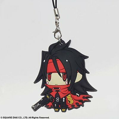 Square Enix Trading Rubber Strap 2 Cellphone Charm Final Fantasy VII 7 Vincent