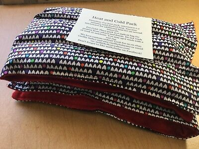 rice heat pad hotcold shoulder neck wrap pack LONG 21x6 Pack Of 2 Pick 2