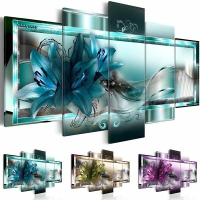 Modern Abstract Flower Canvas Painting Picture Wall Art Prints Home Decor 3 SIZE