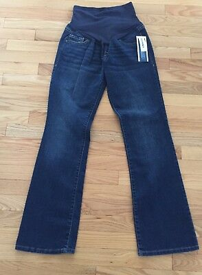 Old Navy Maternity Boot Cut Maternity Full Panel Jeans Size 6 N W T