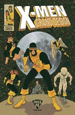 X-MEN GRAND DESIGN #1 (of 2) FRIED PIE VARIANT ED PISKOR UNCANNY GOLD BLUE NEW