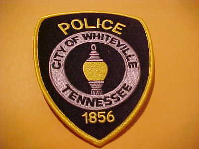 Whiteville Tennessee Police Patch Shoulder Size New