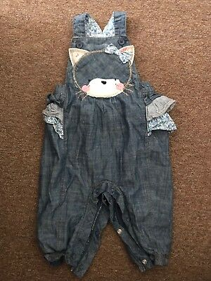 Next Dungaree's 6-9 Months Baby Girl