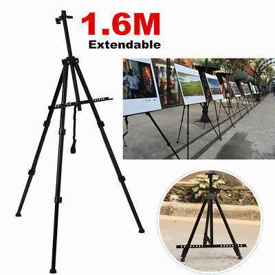 AU STOCK Artist Easels Tripod Adjustable Display Stand Drawing Board