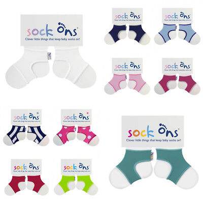 Sock-Ons Sockons Keep Baby socks on in place 0-6m 6-12m and 12-18m Footwear