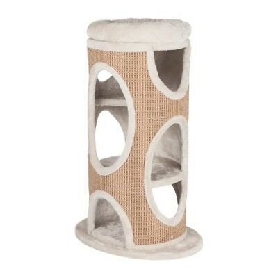 TRIXIE Cat Tower Osana 86cm - Gris clair et brun - Pour chat