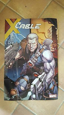 Cable - Promotional Folded Poster A  - Marvel