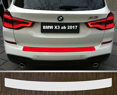 Clear Protective Foil Bumper Protection Transparent BMW X3 Type G01, from 2017