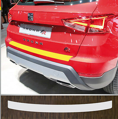 Clear Protective Foil Bumper Protection Transparent Seat Arona, from Year 2017