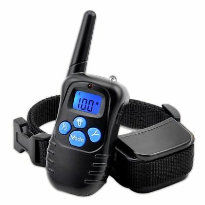 Rechargeable Electric 300m Pet Dog Behavior Training Remote Control Shock Collar