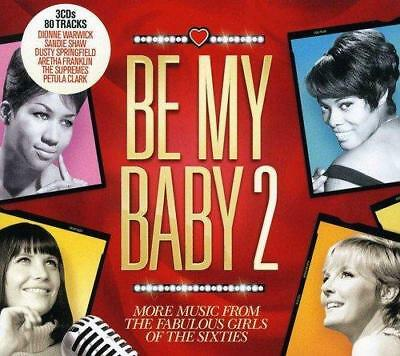 BE MY BABY 2 MORE MUSIC FROM THE GIRLS OF THE SIXTIES 3CDs (NEW/SEALED)