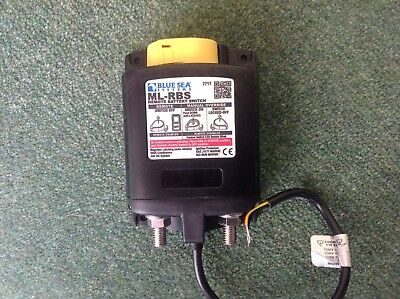 Blue Sea 7717 Ml-Rbs Remote Battery Switch W/Manual