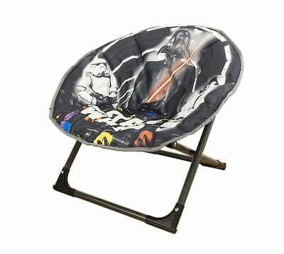 Disney Moon Chair New Star Wars, Folding Round Soft Padded Chair for toddlers