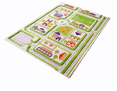 Little Helper IVI Exclusive Thick 3D Childrens Play Mat & Rug in a (T2p)