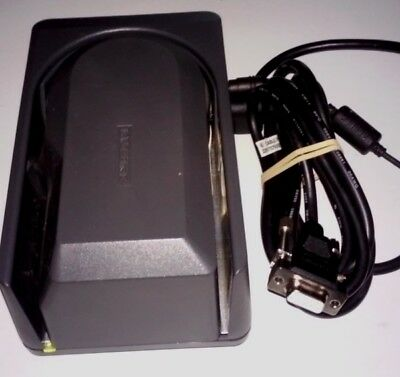MagTek Mini MICR Check Reader 22522003 RS232 XT/PS2 Compatible Power Tested Good