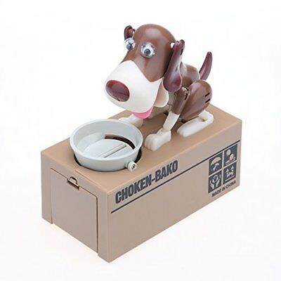 Lindo Hungry Eating Dog Banco de moneda, Konesky Dog Coin