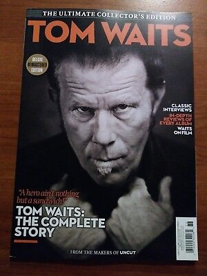 Uncut Magazine Tom Waits Ultimate Music Guide Complete Story